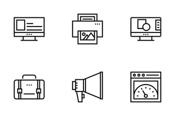Digital Marketing Icon Pack