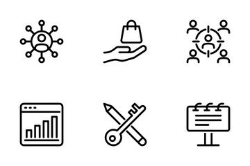 Digital Marketing 3 Icon Pack