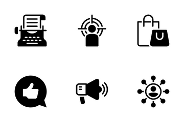 Digital Marketing 3 Icon Pack