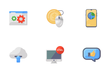 Digital Marketing And SEO Icon Pack