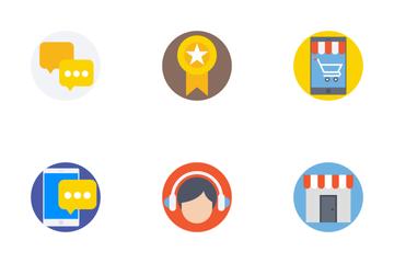 Digital Marketing Flat Icons 2 Icon Pack