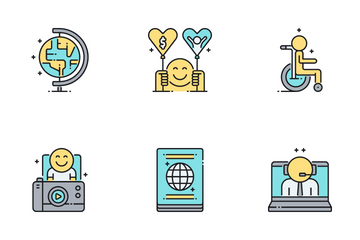 Digital Nomad Icon Pack