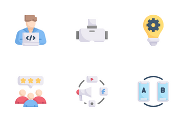 Digital Service Icon Pack