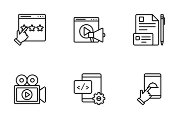 Digital Services Icon Pack