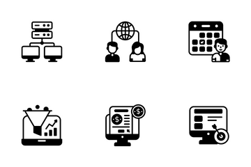 Digital Strategy Icon Pack