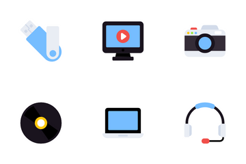Digital Technology Icon Pack