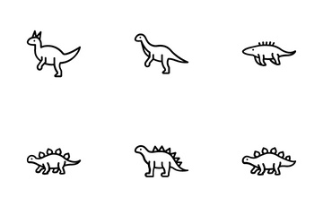 Dinosaurs Icon Pack