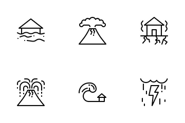 Disaster Icon Pack