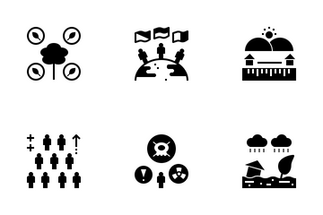 Disaster And Emergency Management Icon Pack