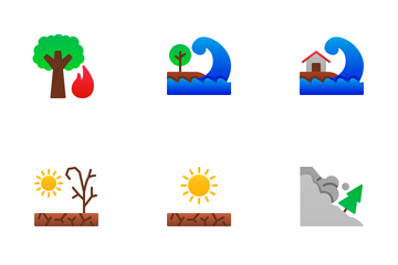 Disaster (Flat) Icon Pack