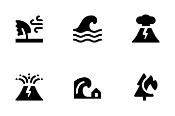 Disaster (Glyph) Icon Pack