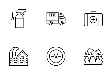 Disaster Vol 1 Icon Pack