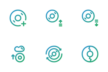 Disc Tool Icon Pack