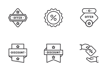 Discount And Sale Icon Pack