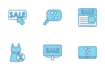Discount Day Icon Pack