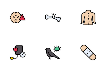 Disease And Injury Icon Pack