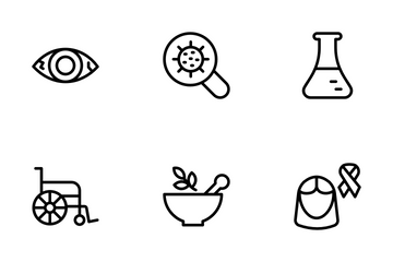 Diseases Icon Pack