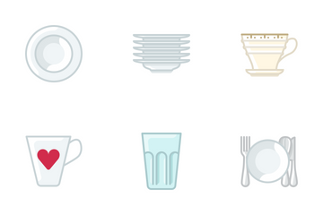 Dishes Icon Pack