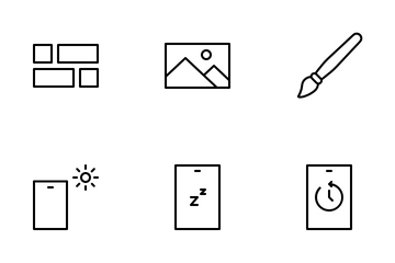 Display Setting Icon Pack