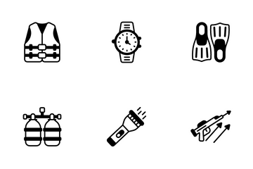 Diving Icon Pack