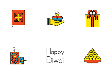 Diwali - 2017 Icon Pack
