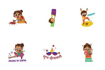 Diwali Sticker Icon Pack