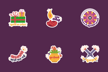Diwali Stickers Icon Pack