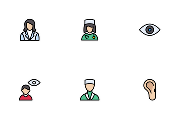 Doctor & Specialist Icon Pack