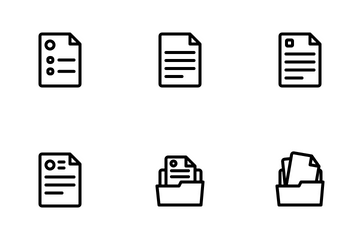 Documents Icon Pack