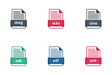 Document File Formats Icon Pack