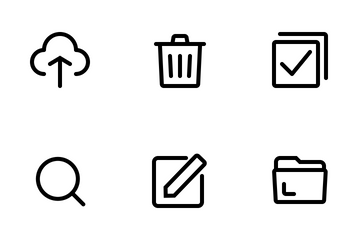 Document Management Icon Pack