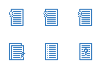 Document Set2 Icon Pack