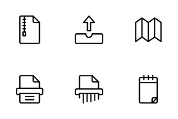 Documents And Paper Icon Pack
