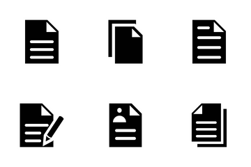Documents Vector Icons Icon Pack
