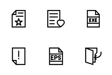 Documents Vol 2 Icon Pack