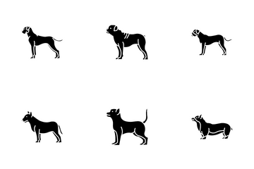 Dog Breeds Icon Pack