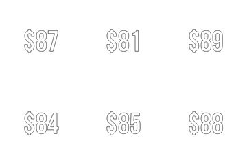 Dollar Currency Icon Pack