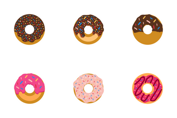 Donuts Vol 1 Icon Pack