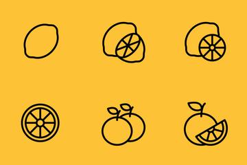 Dottie Fruit Icon Pack