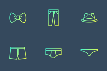 Dressicons - Gradient Line Icon Pack