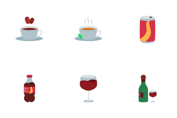 Drink And Beverage Icon Pack