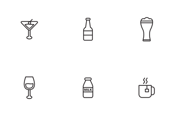 Drink And Beverages Icon Pack