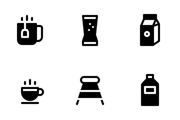 Drink (Solid) Icon Pack