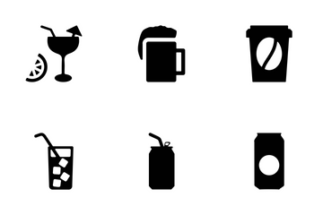 Drink Vector Icons Icon Pack