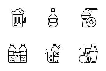 Drinks And Beverage Icon Pack