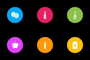 Drinks And Beverages Icon Pack