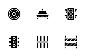 Driving School Icon Pack