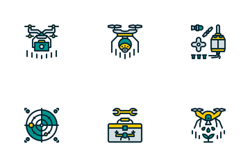 Drone Icon Pack