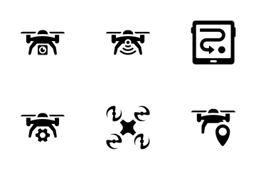 Drones Icon Pack