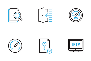 Dual Stroke Part Five Icon Pack